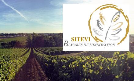 Aristide Lacombe obtient une Citation et un Trophée de l'Innovation 2015 au salon SITEVI de Montpellier